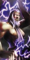 Greek god- Zeus by Alayna