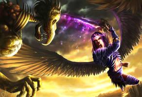 Archangel Uriel by Alayna