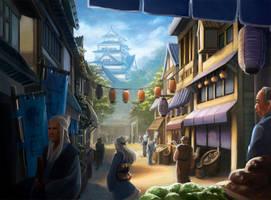 L5R- Daidoji Marketplace by Alayna