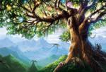 Yggdrasil, Tree of Life by Alayna