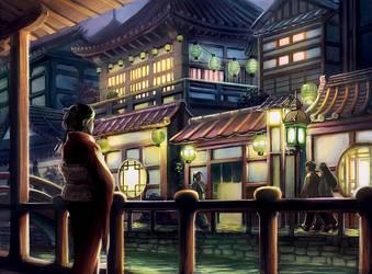 L5R: Jade Pearl Inn by Alayna