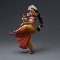 IndianDancer by Rishi-Raj