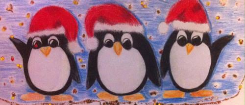 Image festive penguins by Em007et