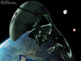Leaving Orbit .. Romulan Style by quantsini