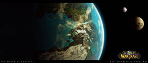 Azeroth Viewed From Space by quantsini