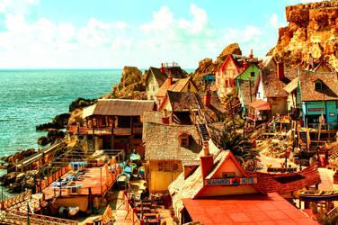 Popeye's Village by hvwn
