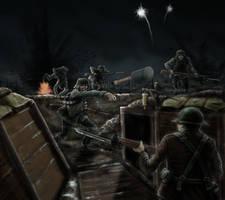 WW1 Trench Raid by timcatherall