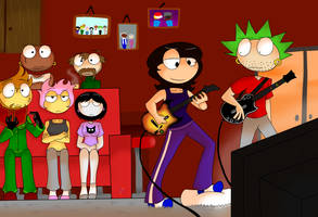 Guitar Hero by BlazingAngel123