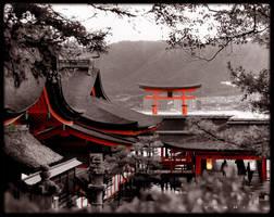miyajima shrine by jyoujo