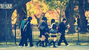 kyoto students by jyoujo