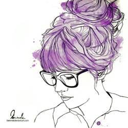 Think Purple by kleinmeli
