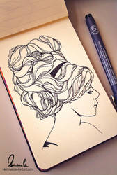 New Little Sketchbook by kleinmeli