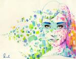 Colorful Vomit by kleinmeli