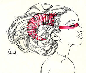 Demon Girl by kleinmeli