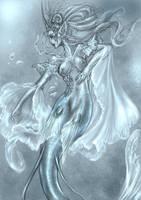 Veil Mermaid by driany