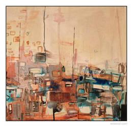 painting - secure - 2007 by erkonom