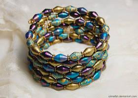 paper bracelet - Jewels of Qarth by Crimefish