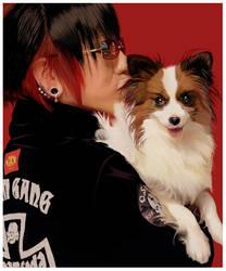 Puppy Love for Misako790 by Crimefish