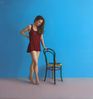 Dancer with Chair by LordSnooty