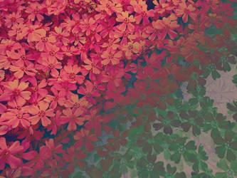 Flowerfall by Theressa