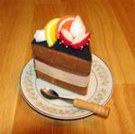 Felted cake by lovebiser