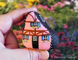 Painted rock by lovebiser