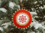 Christmas tree hand made ornament #2 by lovebiser