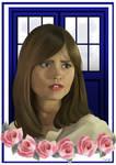 Clara - Doctor Who by AshsArts