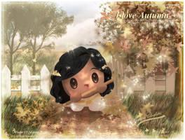 A Little Nicky Loves Autumn by Kauthar-Sharbini
