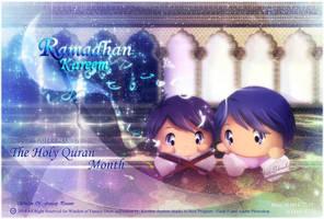 Ramadan Kareem 1435 AH by Kauthar-Sharbini