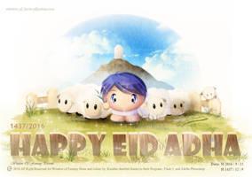 Happy Eidul Adha 2016-1437 by Kauthar-Sharbini