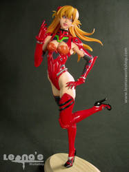 1/7 Asuka in Test Plugsuit by Reflect by LeonasWorkshop