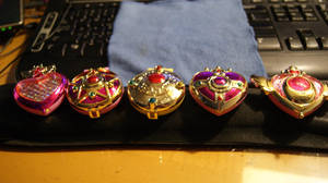 Sailor Moon Compact Gashapons by LeonasWorkshop