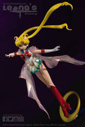 Super Sailor Moon figure by LeonasWorkshop