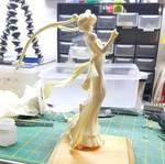 Princess Serenity WIP by LeonasWorkshop