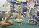 Sailor Moon WIP galore by LeonasWorkshop