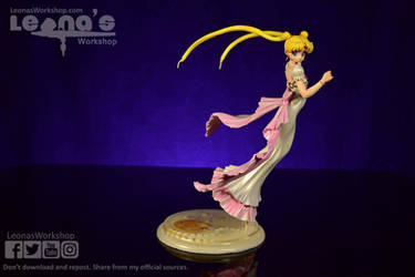 Princess Serenity Resin Figure by LeonasWorkshop