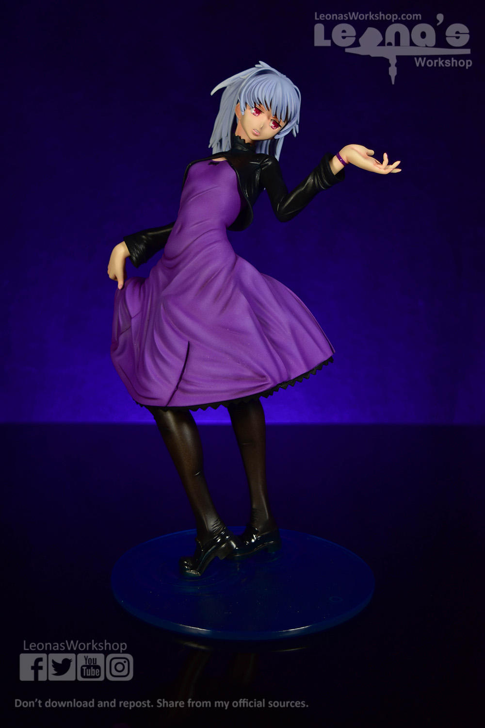 Yin - Darker than Black resin Figure by LeonasWorkshop