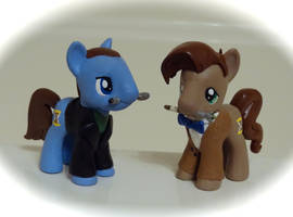 9th and 11th Doctor...Pony'd! by HeyLookASign