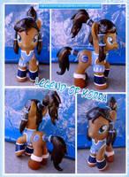 The Legend of Korra Pony by HeyLookASign