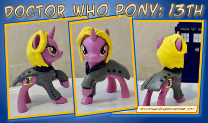 Doctor Who Custom Pony: 13th by HeyLookASign