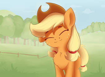 Just AppleJack by ANTI1MOZG