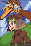 GS1: Rusty Knight and Ferocious Steed by The-Knick