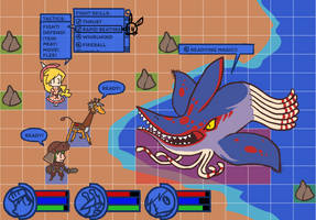 GS1 Battle System, Sketchy Mockup by The-Knick