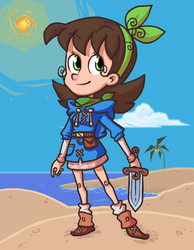 Beachy Dinx by The-Knick