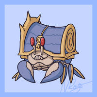 Monsterpedia #9: Cargocrab by The-Knick