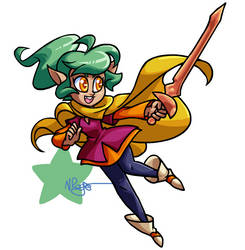 W1D1 - Harpy Gee by The-Knick