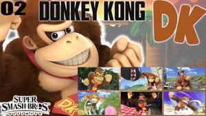 SSBU Wallpaper - 02 - Donkey Kong by UMSAuthorLava