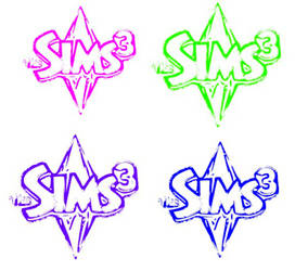 Pop Art (The Sims 3 logo) by HanidSmythe