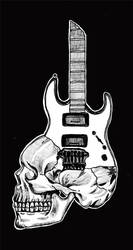 skull of rock by titoyusuf